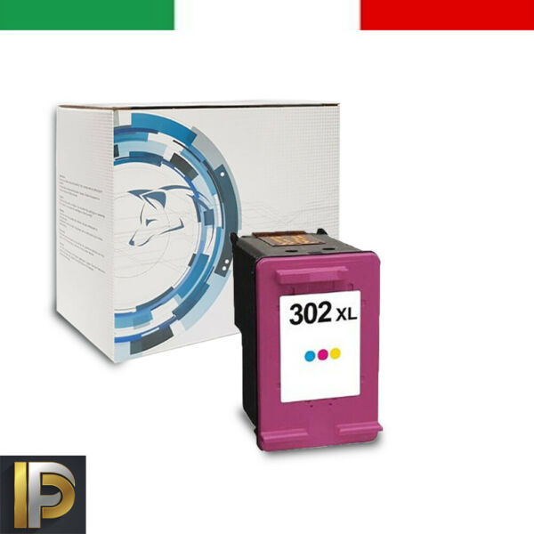 Cartuccia Compatibile HP302C Color per HP Deskjet 3830 3832 4650 1110 2130 3630