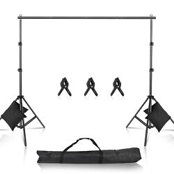 Kyпить 10ft Studio Photo Background Backdrop Triple Supoort Kit Stand with Crossbar kit на еВаy.соm