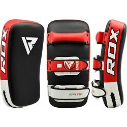 Kyпить RDX Muay Thai Pad Training Curved Kickboxing Kicking Strike Shield Coaching Kick на еВаy.соm