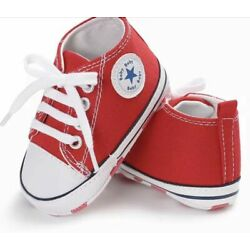 Kyпить Latest baby/  Kids Canvas Sneakers Baby Boy/Girl Soft Sole,good for pre-walkers. на еВаy.соm