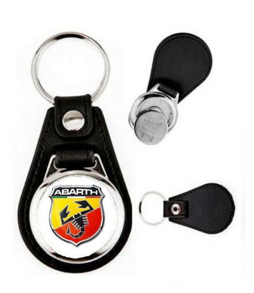 voiture PORTE CLES LOGO AUTOMOBILE ABARTH