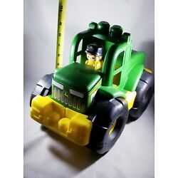 Kyпить Mega Bloks John Deere Transforming Tractor with Removable Figure - Free Shipping на еВаy.соm