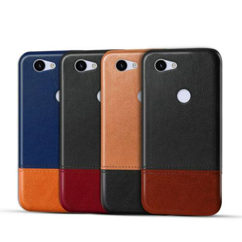 Luxury UltraThin Leather Case For Google Pixel 2 3a 4 XL Bumper Hard Back Cover