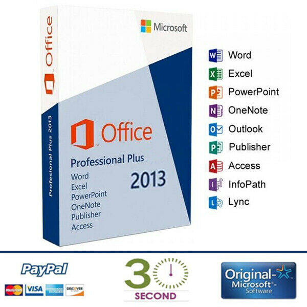 Microsoft Office 2013 Professional Plus - 32/64 bit - Multilanguage