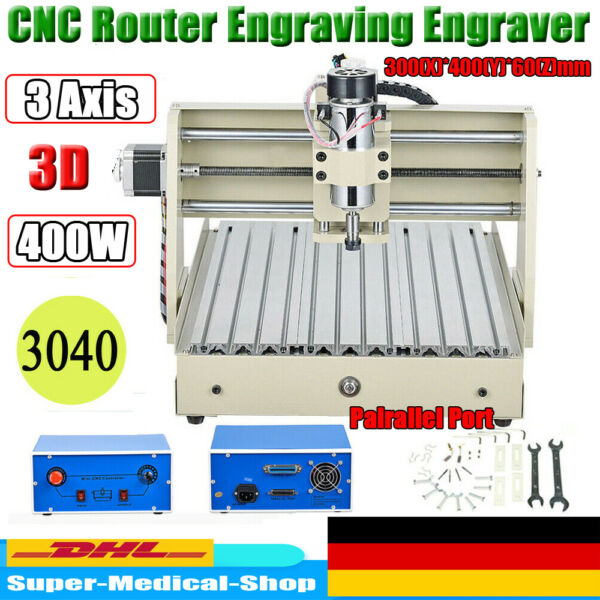 USB 3Assi CNC 3040 Router Incisore Macchina WOOD Engraver Engraving 400W Desktop