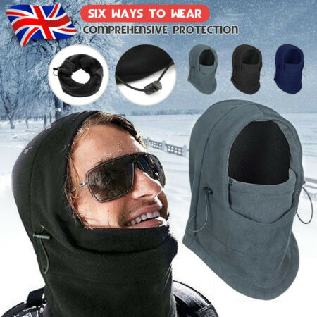 img-Men Trapper Hat Winter Earflap Warm Russian Face Mask Ski Cap Windproof Outdoor