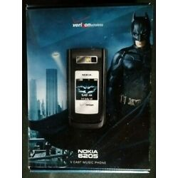 Kyпить BOX & Promo items ONLY - NOKIA 6205 The Dark Knight Edition - Phone NOT included на еВаy.соm