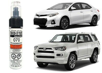 Genuine OEM Toyota Touch Up Paint Pen 070 White Pearl 00258-00070-21 New USA