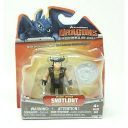 Snotlout Dragon Trainer Defenders of Bern Mini Figure How to Train 2