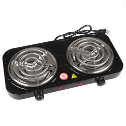 Kyпить Portable Electric Double Burner Hot Plate Heating Cooking Stove Dorm Camping на еВаy.соm