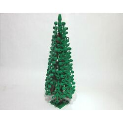 Custom Conifer forest tree for LEGO w/ green leaves, new parts, FREE U.S. Ship!