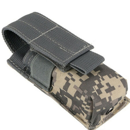img-Men Waist Pack Flashlight Pouch Outdoor Bag Accessories Small 1PC M5 Tactical T