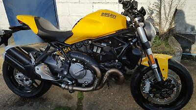 Ducati Monster 821cc 821 ABS (Yellow) Naked 2018MY 821 ABS