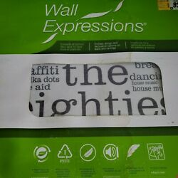 Wall Expressions 2 Set TYP02--8tiles 50cm x 50cm ''the eighties'' theme