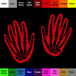 Hand Decal 2 Pack - Skeletal Hand Stickers