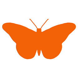 Butterfly Decal - Buy 1 Get 1 Free - Flying Butterfly Stickers