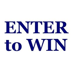 Enter to Win Decal - Business Event Sign Sticker