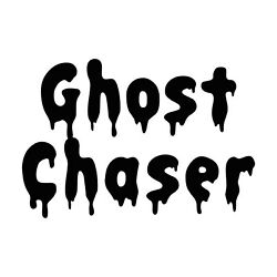 Ghost Chaser Sticker - Halloween Ghost Decal