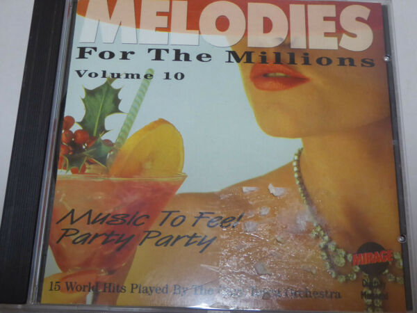 GARY TESCA ORCHESTRA <  Melodies For The Millions  > VG+ (CD)