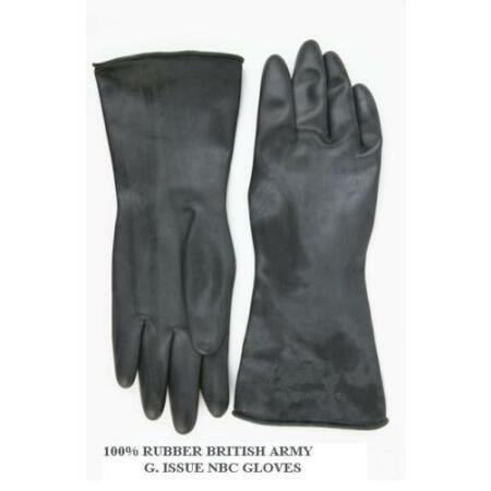 img-VIRUS PROTECTION GLOVES PROTECTIVE 100% WATERPROOF OVER RUBBER ARMY ISSUE