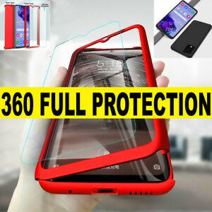 SAMSUNG S20 ULTRA PLUS A21s A51 CASE Shockproof 360 Ultra Thin FULL Hard Cover