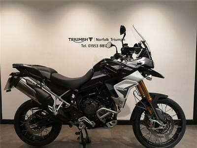 2020 Triumph TIGER 900 RALLY PRO New Demo In Store Now Petrol black Manual