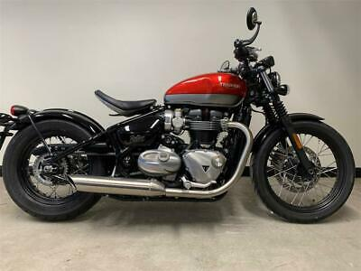 2020 Triumph BOBBER TWO TONE PAINT 1200cc (20MY) Petrol red Manual