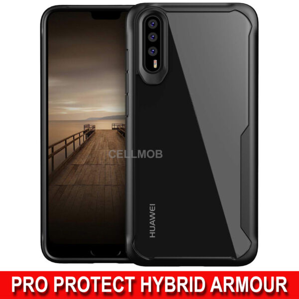 Huawei P20 Pro Lite P Smart P30 Case Luxury Hybrid Shockproof Protective Cover