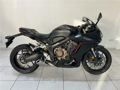 2020 Honda CBR650R CBR650RAK(19MY) Petrol black Manual