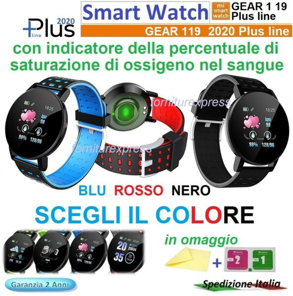⭐SMART WATCH ORIGINAL GEAR 1 19 PLUS 2020 Bluetooth Orologio MENU