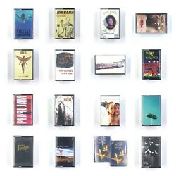 Kyпить BUILD UR OWN Cassette Tape Lot 90's - Nirvana, Pearl Jam, Green Day, NIN + More! на еВаy.соm