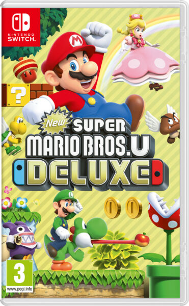 Nintendo Switch New Super Mario Bros U Deluxe New Super Mario Bros. U Deluxe, 3+