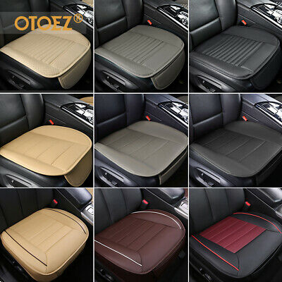 Auto Car PU Leather Front Seat Cover Half/Full Surround Chair Cushion Mat Pad