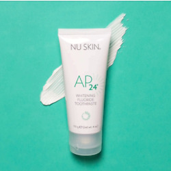 Kyпить New Look! Nuskin Nu Skin Ap-24  Whitening Fluoride Toothpaste 4oz Exp June 2022 на еВаy.соm