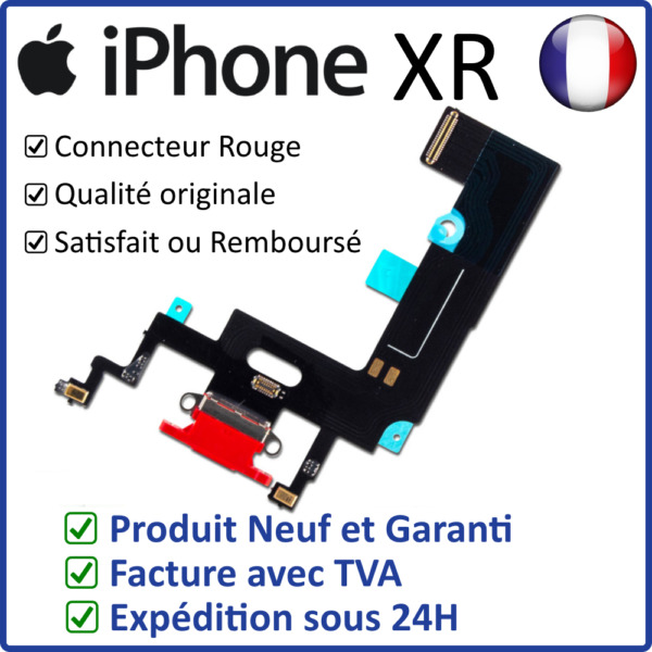Lyon,FranceIPHONE XR DOCK  - NAPPE DOCK FLEX CONNECTEUR DE CHARGE LIGHTNING ET MICRO