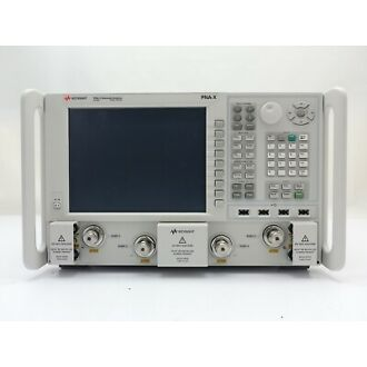 Keysight N5242A-400: PNA-X Network Analyzer / 10 MHz to 26.5 GHz / 4-port / Configurable Test Set / Internal Second Source