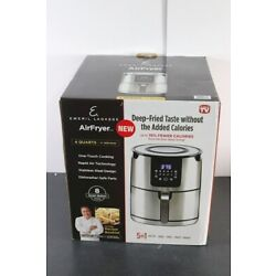 Emeril Lagasse 4 QT Air Fryer, 8 One-Touch Cooking Presets, Digital Display