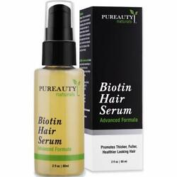 Kyпить Biotin Hair Growth Serum To Help Grow Healthy, Strong Hair for Men and Women на еВаy.соm