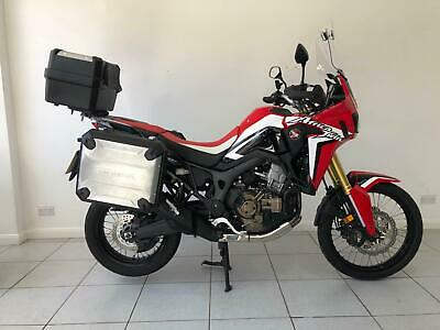 2017 Honda CRF1000L Africa Twin ABS DCT Full Luggage And More! Petrol red Automa