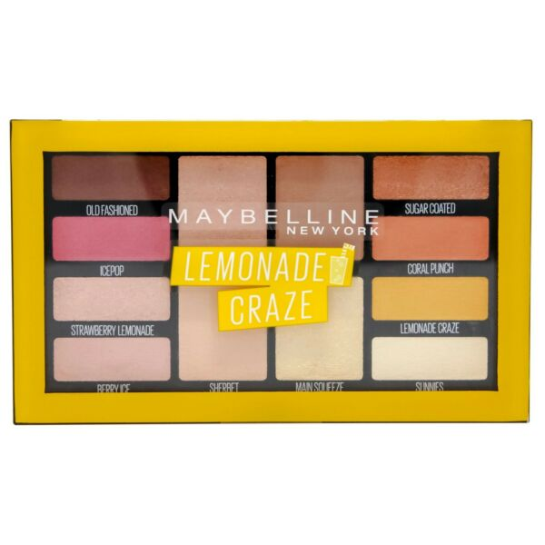 BulgarieMaybelline Limonade Eyeshadow Palette Pour Yeux