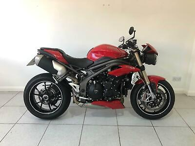 2018 Triumph SPEED TRIPLE S Naked Muscle Bike Petrol red Manual