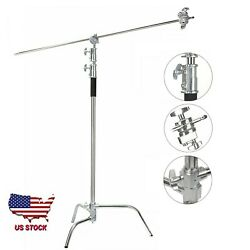 Kyпить US Professional Heavy Duty Studio C-Stand with Gobo Arm Grip Heads Century Stand на еВаy.соm