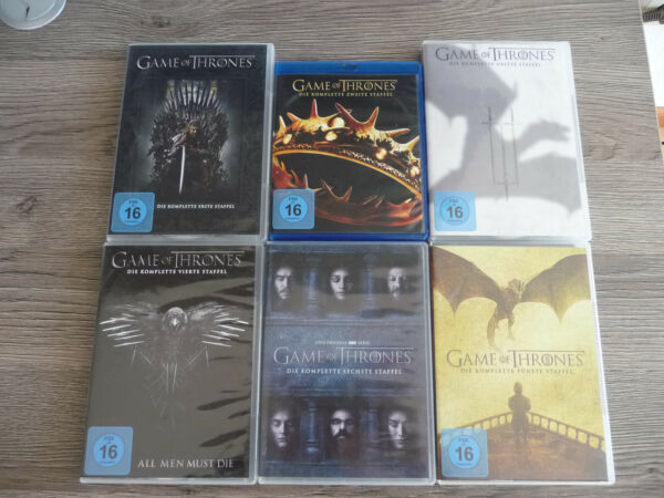 Game of Thrones - Staffel 1-6 , DVD