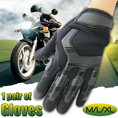 Motorcycle Touch Screen Riding Fiber Full Finger Gloves Racing Moto Cycling