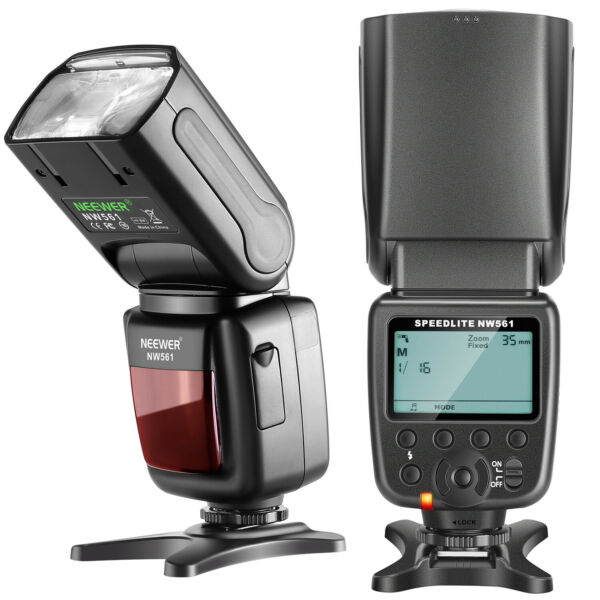 Neewer NW561 LCD Display Flash Speedlite per Canon Nikon Panasonic Olympus