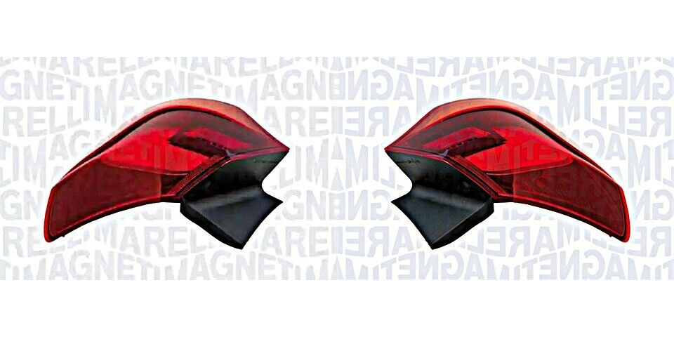 Outer Rear Light Pair For OPEL Astra J 1222208 1222209 MAGNETI MARELLI