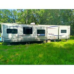 Kyпить Large Used Camper Trailer for Living Full Time or Just Taking on Vacation на еВаy.соm