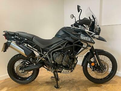 2017 Triumph Tiger 800 Xca Petrol blue Manual