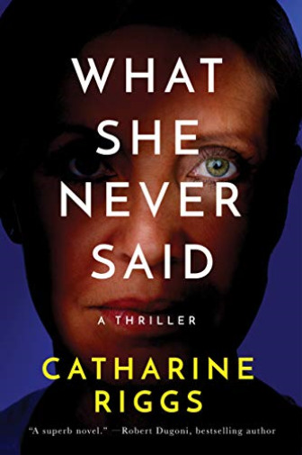 Royaume-UniRiggs, -What She Never Said BOOK NEUF