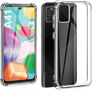 Clear ARMOUR Case For Samsung A41,A51,A71 Protective Shockproof Slim Phone Cover